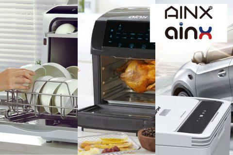 【新規取扱いメーカー:AINX】ネットショップ様は特に注目!AINX(アイネクス)のキッチン家電【エンド直OK】